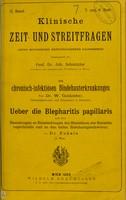 view Die chronisch-infektiösen Bindhauterkrankungen / von W. Goldzieher.