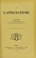 view De l'astigmatisme / par A. Imbert.