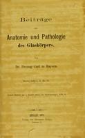view Beiträge zur Anatomie und Pathologie des Glaskörpers / von Herzog Carl.
