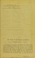 view Zur Frage der Erythropsie Aphakischer / von O. Purtscher.