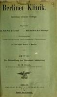 view Die Behandlung der Hornhaut-Entzündung / von M. Straub.