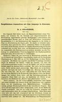 view Enophthalmus traumaticus mit dem ausgange in Genesung / von A. Schapringer.