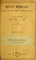 view Du prognostic de la papille étranglée / par le Dr. Eperon.