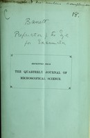 view The preparation of the eye for histological examination / by James W. Barrett.