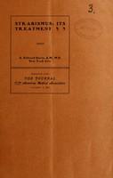 view Strabismus : its treatment / by A. Edward Davis.