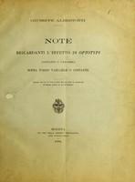 view Note riguardanti l'effetto di optotypi costanti o variabili sopra fondo variabile o costante / Giuseppe Albertotti.