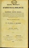 view Traité pratique d'ophthalmologie / par Maximilien Joseph Chelius ; traduit avec l'approbation de l'auteur par MM. M. Ruff et J. Deyber.