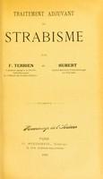 view Traitement adjuvant du strabisme / par F. Terrien et Hubert.