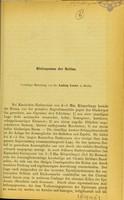 view Histiogenese der Retina / von Ludwig Loewe.