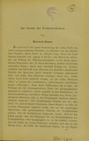 view Zur Chemie der Netzhautstäbchen / von Heinrich Dreser.