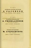 view De diphtheritidis conjunctivae epidemia Regiomonti anni MDCCCLX observata : dissertatio inauguralis / auctor Julius Lewinski.