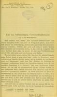 view Fall von beiderseitigen Corneoscleraldermoid / von B. Wicherkiewicz.