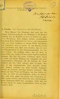 view Zur Operation der Trichiasis / A. Vossius.