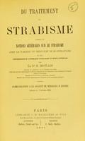 view Du traitement du strabisme : précédé de notions générales sur le strabisme avec le tableau du résultat de 26 opérations et les photographies de 6 strabiques prises avant et après l'opération / par E. Motais.