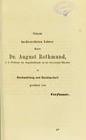 view Subconjunctivale Injectionen in der Behandlung der Hornhauttrübungen : dissertatio inauguralis / von Franz Xaver Wein.