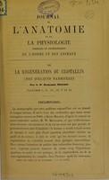 view De la régénération du critsallin chez quelques mammifères / par le Dr. Benjamin Milliot.