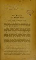view Ueber hemianopsie / von J. Hirschberg.