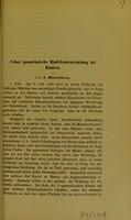 view Ueber gonorrhoïsche Bindehautentzündung bei Kindern / von J. Hirschberg.