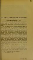 view Ueber Gelbsehen und Nachtblindheit der Ikterischen / von J. Hirschberg.