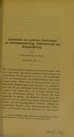 view Anatomische und praktische Bemerkungen zur Altersstaarausziehung, Pupillenbildung und Hornhautfärbung / von J. Hirschberg.