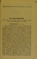 view Ein seltener Operationsfall / von J. Hirschberg.