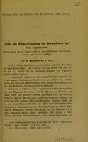 view Ueber die Magnet-Extraction von Eisensplittern aus dem Augeninnern / von J. Hirschberg.