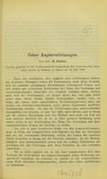 view Ueber Augenverletzungen : Vortrag gehalten in der Sommergeneralversammlung des Centralvereins deutscher Aertze in Böhmen zu Pilsen am 14 Juli 1889 / von H. Sattler.