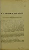 view De la contusion du globe oculaire / L. Leplat.