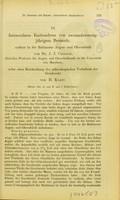 view Intraoculares Enchrondom von zweiundzwanzigjahrigem Bestande, entfernt in der Baltimore Augen- und Ohrenklinik / von J. J. Chisholm ; nebst einer Beschreibung des mikroskopischen Verhaltens der Geschwulst von H. Knapp.
