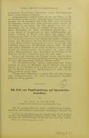 view Ein Fall von Pupillenstörung auf hysterischer Grundlage / von A. Pichler.