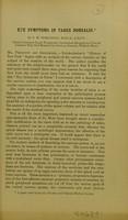 view Eye symptoms in tabes dorsalis / by J. H. Tomlinson.