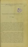 view Note sur l'action du grand sympathique sur l'accommodation / par J. Mawas.