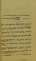view Klinisch-statistische Beiträge zur Lehre von der Myopie / von Dr. Schleich.