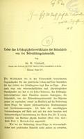 view Ueber das Abhängigkeitsverhältniss der Sehschärfe von der Beleuchtungsintensität / von W. Uhthoff.