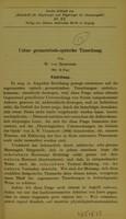 view Ueber geometrisch-optische Täuschung / von W. von Zehender.