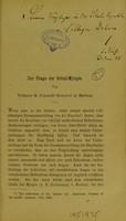 view Zur Frage der Schul-Myopie / von H. Schmidt-Rimpler.