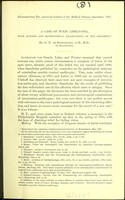view A case of toxic amblyopia : with autopsy and microscopical examination of the specimens / by G. E. de Schweinitz.