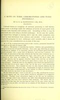 view A note on chronic chromatopsia and toxic hysteria / by G. E. de Schweinitz.