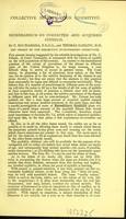 view Memorandum on inherited and acquired syphilis / by C. Macnamara and Thomas Barlow.