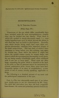 view Microphthalmos / by E. Treacher Collins.