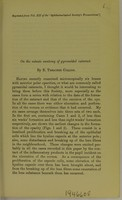 view On the minute anatomy of the pyramidal cataract / by E. Treacher Collins.