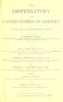 view The dispensatory of the United States of America / by Geo. B. Wood and Franklin Bache.