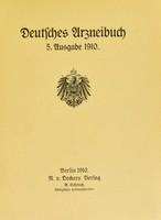 view Deutsches Urzneibuch.