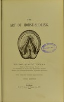 view The art of horse-shoeing / by William Hunting.