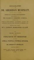 view Biography of Dr. Sheridan Muspratt ...