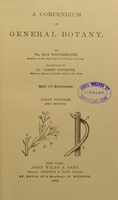 view A compendium of general botany