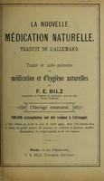 view La nouvelle médication naturelle : traité et aide-mémoire de médication et d'hygiène naturelles