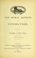 """view """"The anti-vivisection question."""""""