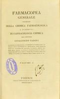 view Farmacopea generale sulle basi della chimica farmacologica o Elementi di farmacologia chimica / del Gioacchino Taddei.