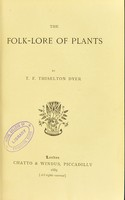 view The folk-lore of plants